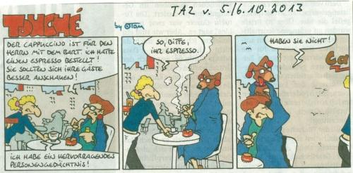 Tom-Comic Taz